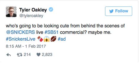 Tyler Oakley Tweet